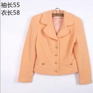 Tweed vintage style suit jacket